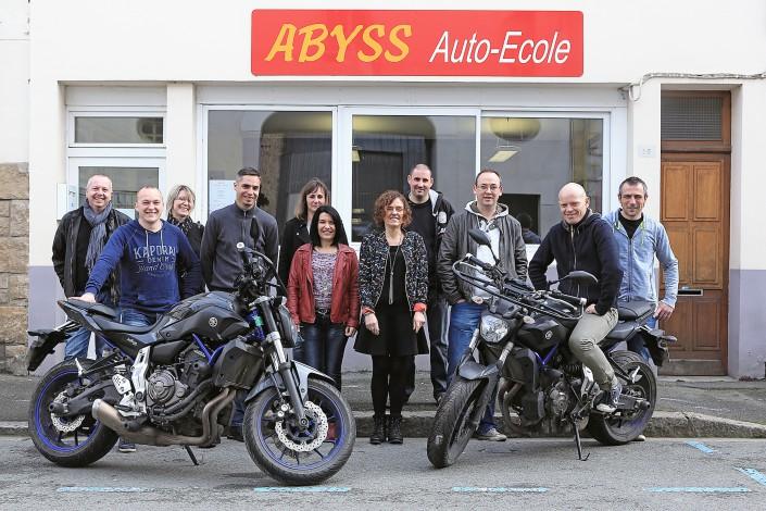 l'équipe Abyss Auto-école